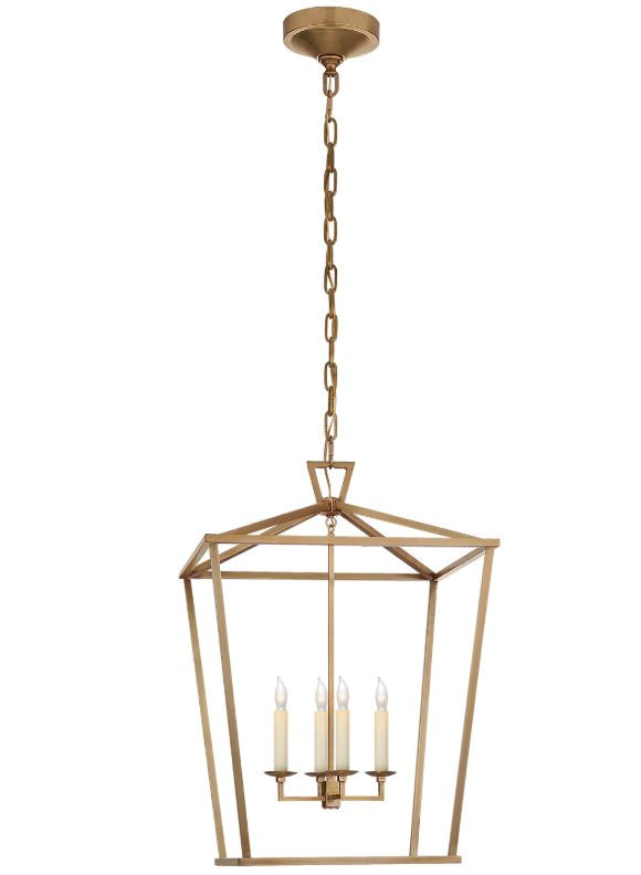DARLANA MEDIUM LANTERN - Donna's Home Furnishings in Houston