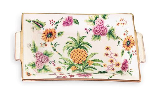 PORTSMOUTH PINEAPPLE TRAY - Donna's Home Furnishings in Houston