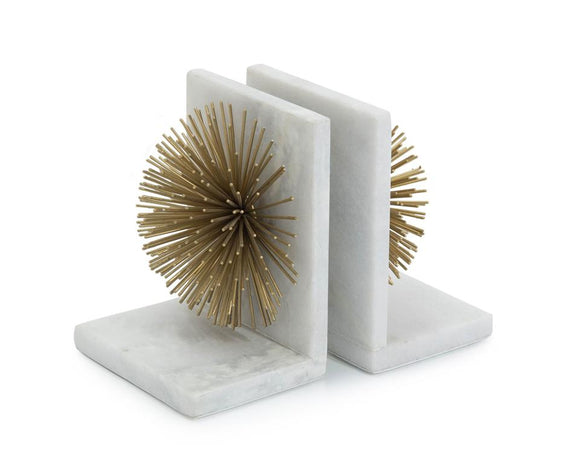 GOLD BURST BOOKENDS