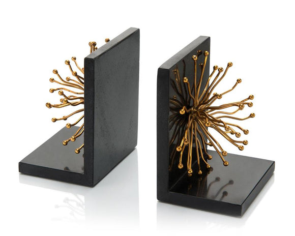 FLOWER BOOKENDS - Donna's Home Furnishings in Houston