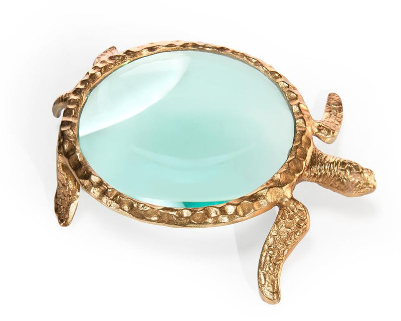 LARGE TURTLE MAGNIFYING GLASS - Donna's Home Furnishings in Houston