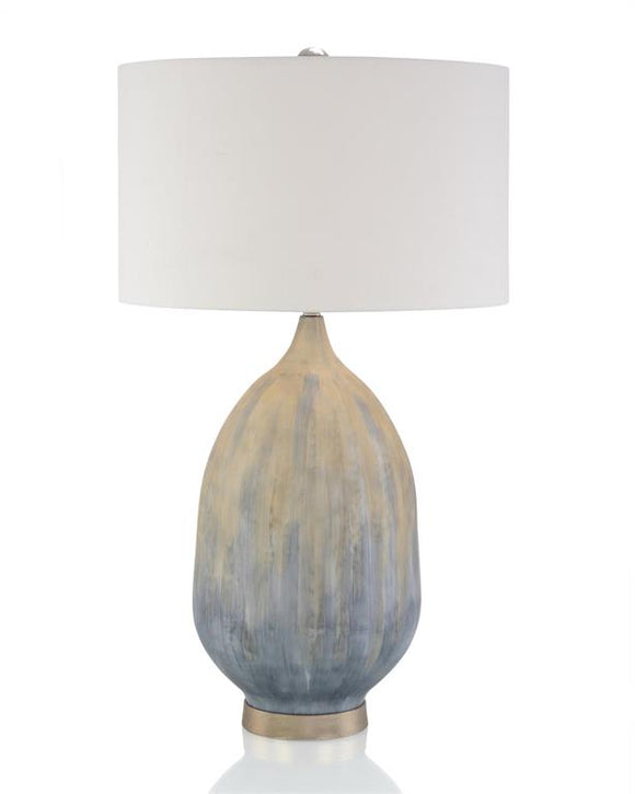 ENAMEL TABLE LAMP