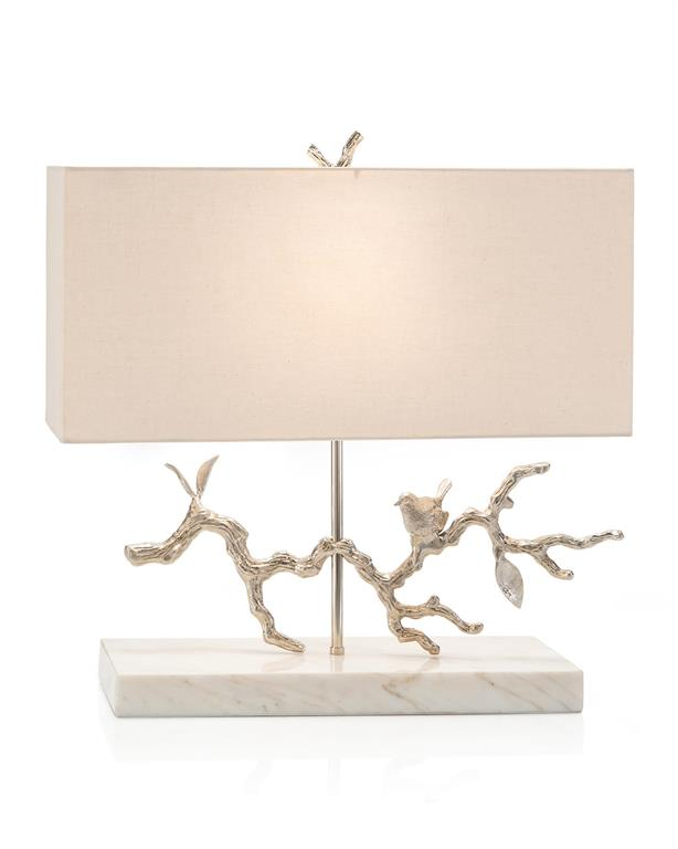 BIRD ON BRANCH LAMP - Donna's Home Furnishings in Houston