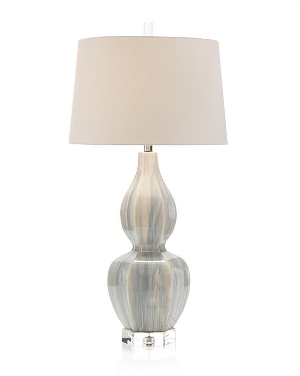CERAMIC URN TABLE LAMP - Donna's Home Furnishings in Houston