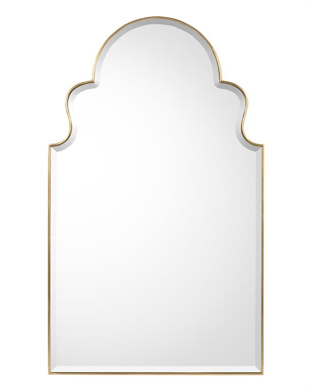 SCALLOPED MIRROR - Donna's Home Furnishings in Houston