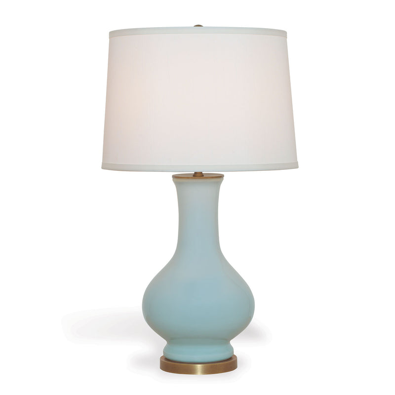 DOROTHY CELADON LAMP - Donna's Home Furnishings in Houston
