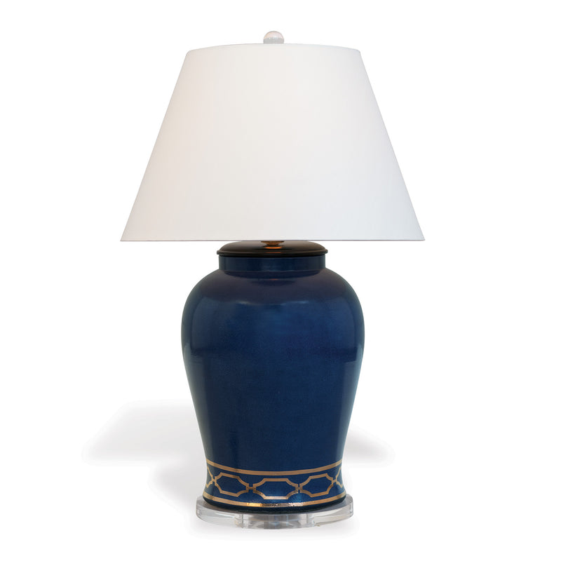 Pavillion Indigo Lamp - Donna's Home Furnishings in Houston