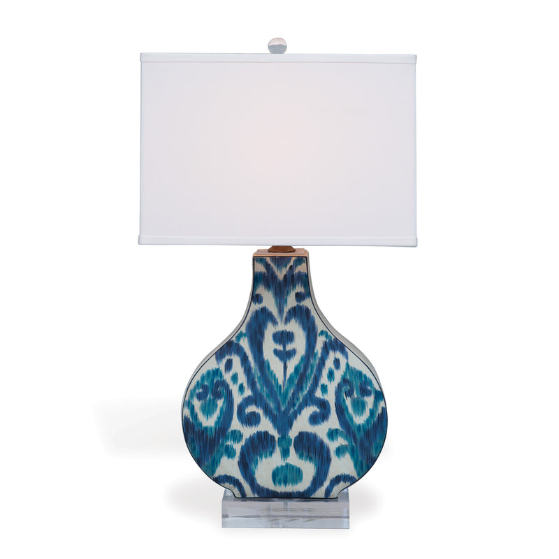 GREYSTONE INDIGO LAMP - Donna's Home Furnishings in Houston