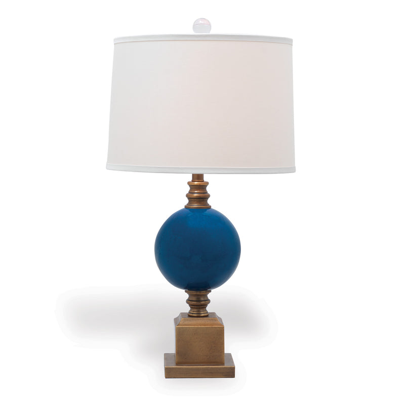 Rutherford Turquoise Lamp - Donna's Home Furnishings in Houston