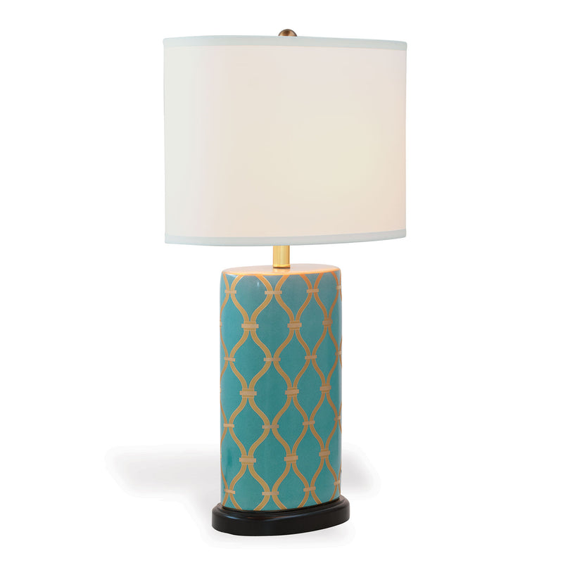 Mateo Peacock Lamp - Donna's Home Furnishings in Houston