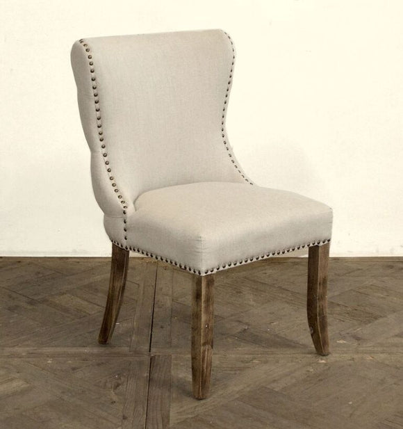 TUFTED BACK SIDE CHAIR - Donna's Home Furnishings in Houston