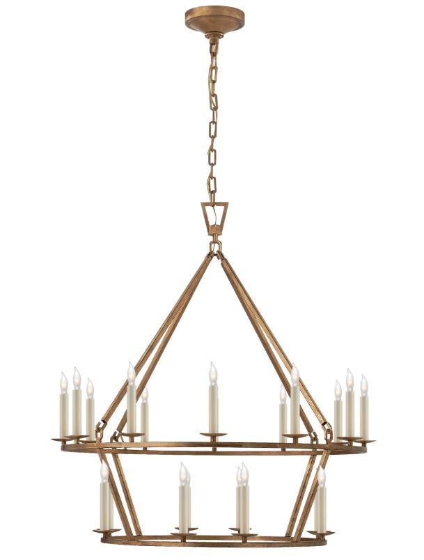 TIERED CHANDELIER - Donna's Home Furnishings in Houston