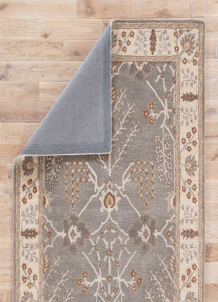 Jaipur Poeme PM144 Hand-Tufted Rug in Charcoal Gray/Rainy Day - Donna's Home Furnishings in Houston