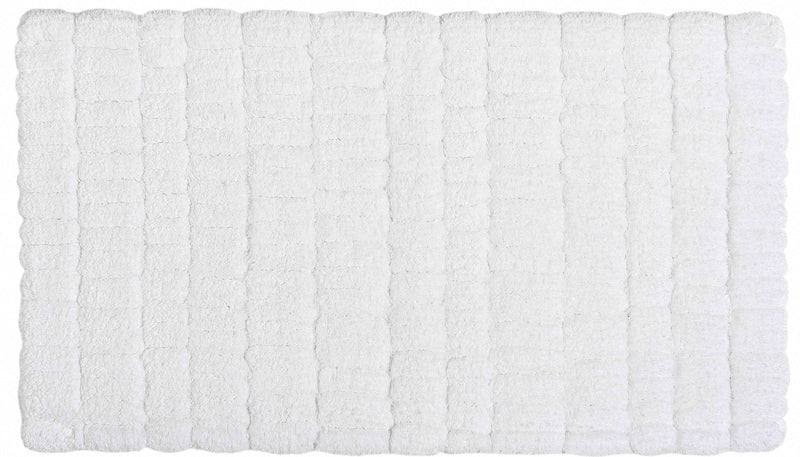 PATCH BATH RUG 20X31 WHITE - Donna's Home Furnishings in Houston