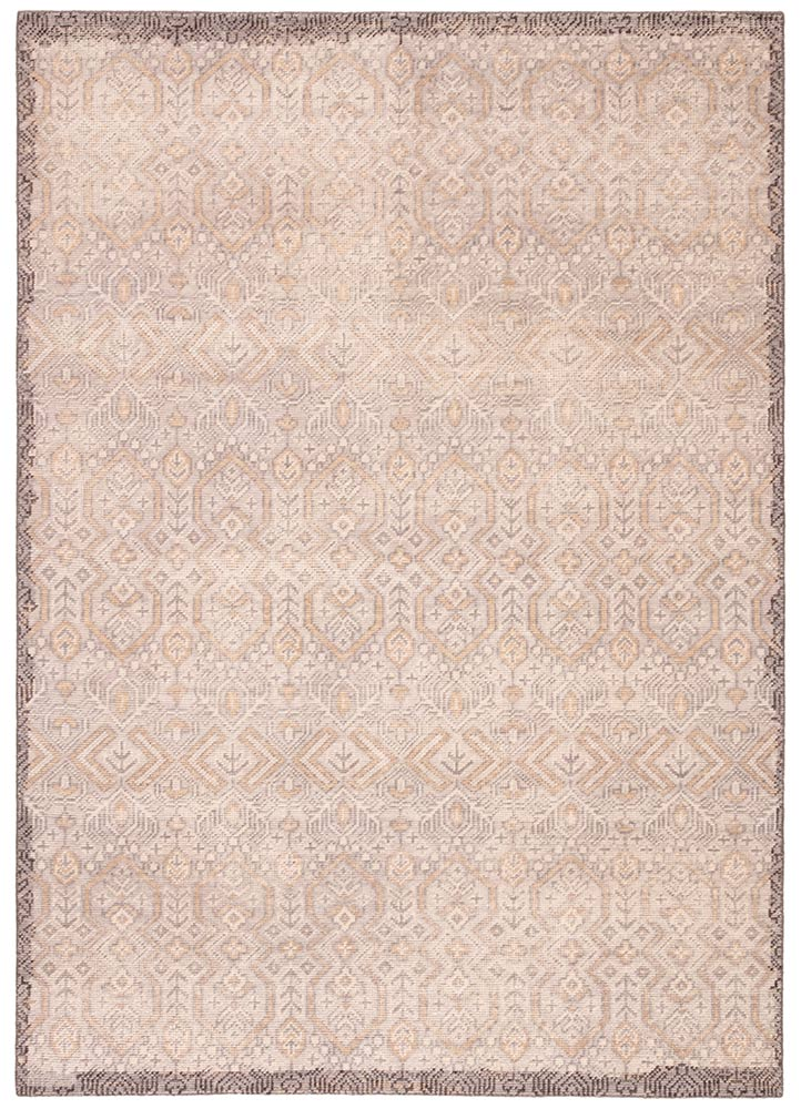 Jaipur Revolution REL10 Hand-Knotted Rug in Whitecap Gray/Pumice Stone - Donna's Home Furnishings in Houston