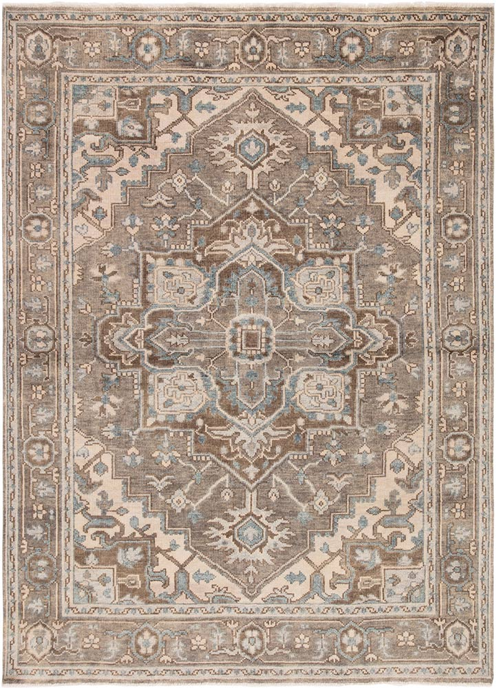 Jaipur Salinas SLN07 Wool Rug in London Fog/Whitecap Gray - Donna's Home Furnishings in Houston