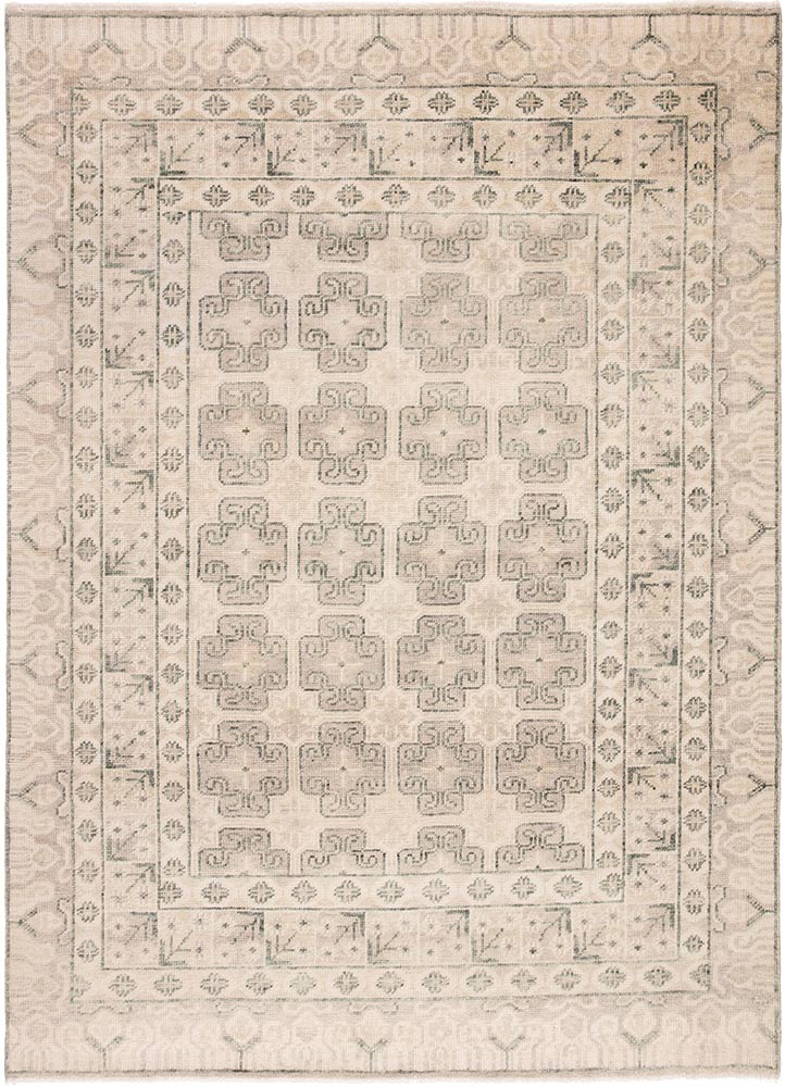 Jaipur Salinas SLN08 Wool Rug in Oatmeal/Whitecap Gray - Donna's Home Furnishings in Houston