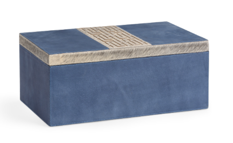 BLUE SUEDE BOX