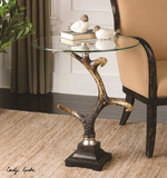 STAG HORN SIDE TABLE