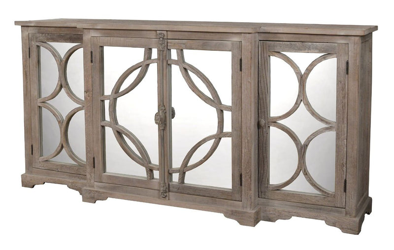 BREAKFRONT SIDEBOARD - Donna's Home Furnishings in Houston