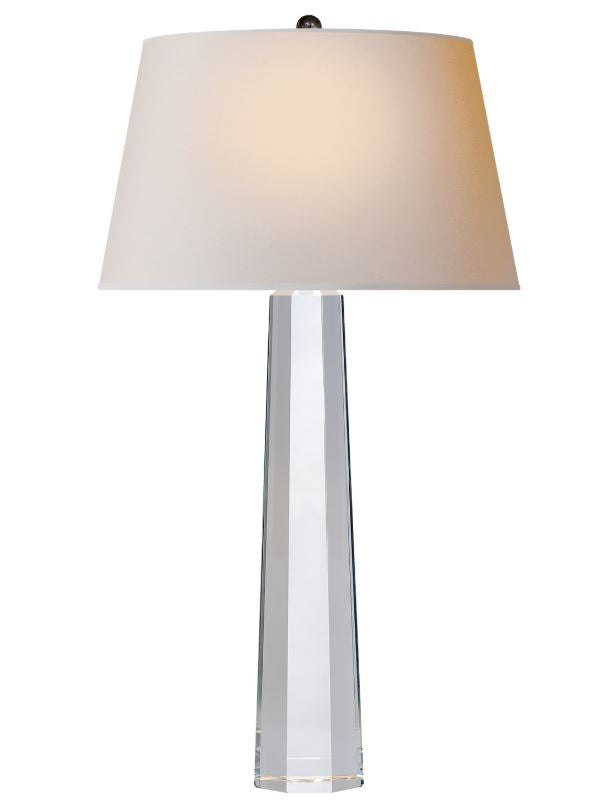 LARGE OCTAGONAL SPIRE TABLE LAMP