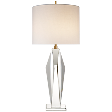 GLASS PEAK LAMP - Donna's Home Furnishings in Houston