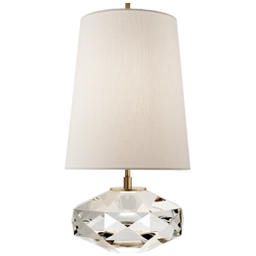 CRYSTAL TABLE LAMP - Donna's Home Furnishings in Houston