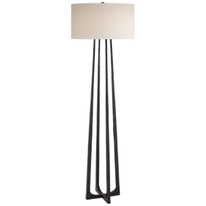 SCALA AGED IRON FLOOR LAMP - Donna's Home Furnishings in Houston