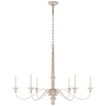 COUNTRY CHANDELIER - Donna's Home Furnishings in Houston