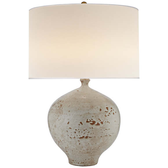 PHARAOH WHITE GALOS TABLE LAMP