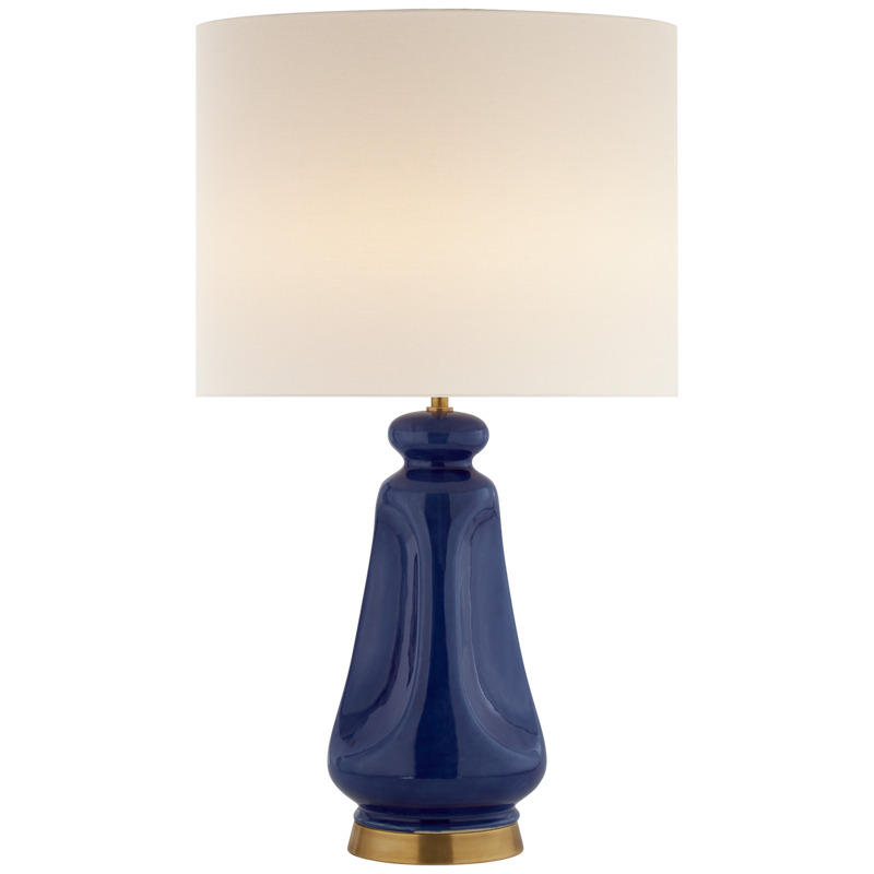 Kapila Table Lamp in Blue Celadon - Donna's Home Furnishings in Houston