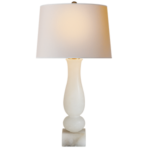 ALABASTER TABLE LAMP - Donna's Home Furnishings in Houston