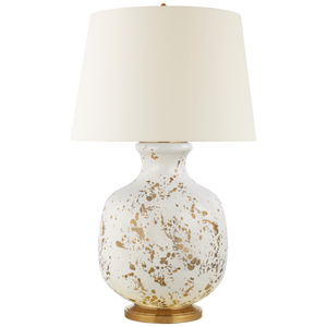 GOLD SPLATTER TABLE LAMP - Donna's Home Furnishings in Houston