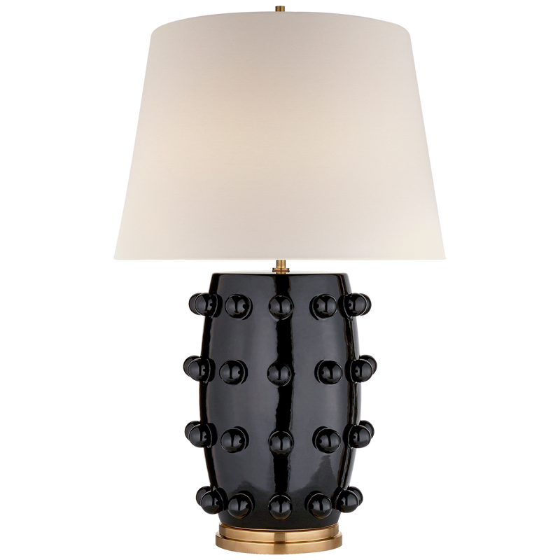 LONDON TABLE LAMP IN BLACK - Donna's Home Furnishings in Houston