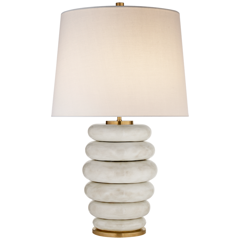 BEEHIVE STACKED LAMP - Donna's Home Furnishings in Houston