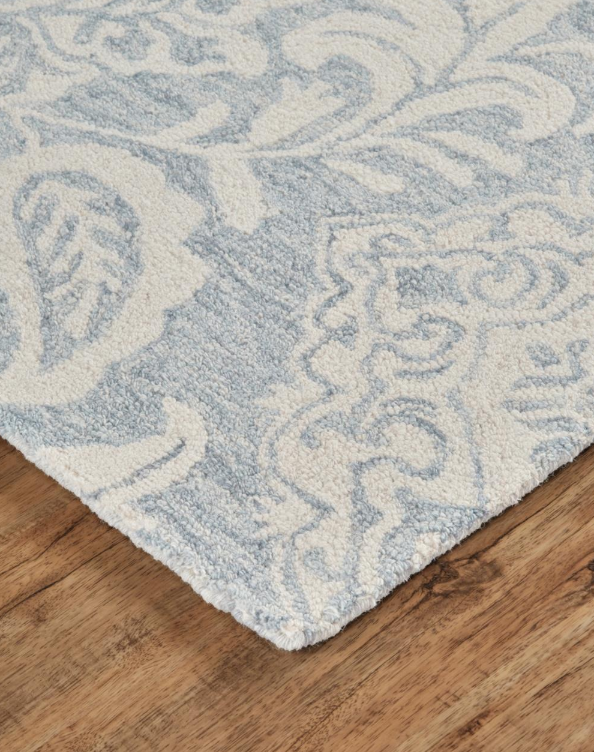 BELFORT BLUE GRAY PAISLEY - Donna's Home Furnishings in Houston