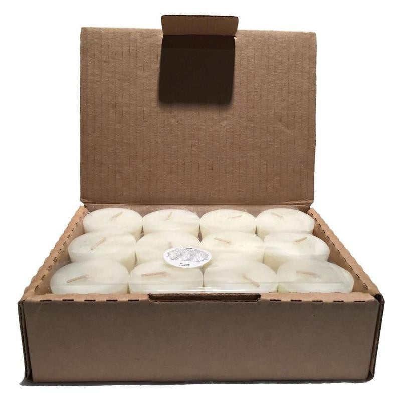 Box of 12 Round Votives Donna's Signature Scent Candle - Donna's Home Furnishings in Houston