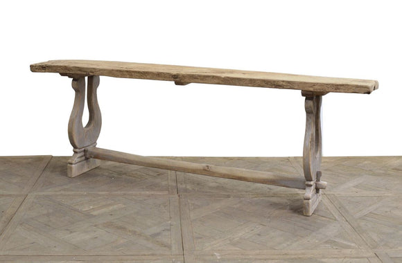 RUSTIC PINE CONSOLE - Donna's Home Furnishings in Houston