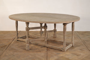 OVAL DROP LEAF DINING - Donna's Home Furnishings in Houston