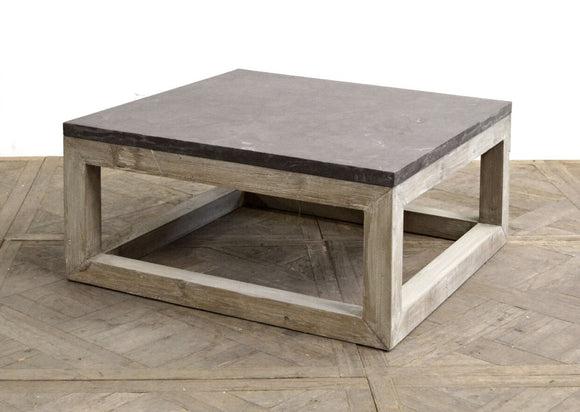 BLUE STONE COFFEE TABLE - Donna's Home Furnishings in Houston