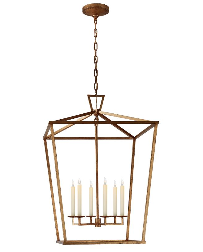 DARLANA EXTRA LARGE LANTERN - Donna's Home Furnishings in Houston