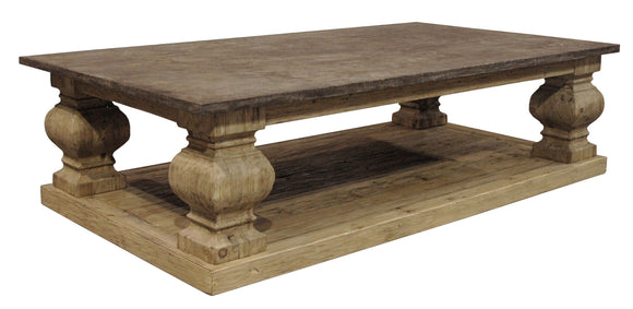 STONETOP COFFEE TABLE - Donna's Home Furnishings in Houston