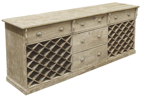 WINE RACK SERVER - Donna's Home Furnishings in Houston