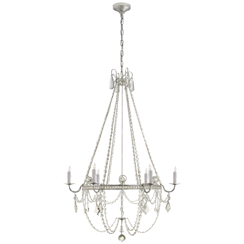 SHANNON MEDIUM CHANDELIER - Donna's Home Furnishings in Houston