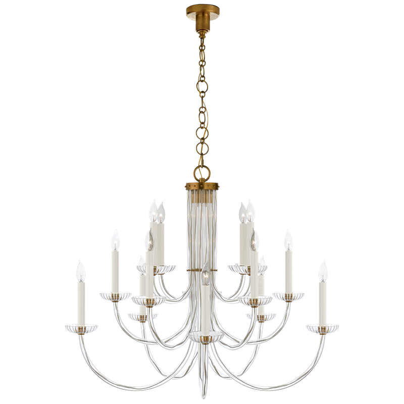 Visual Comfort Wharton Chandelier - Donna's Home Furnishings in Houston