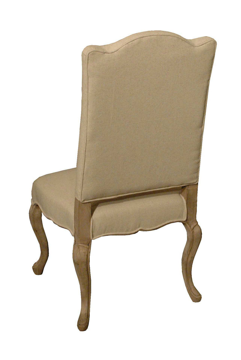 NORMA SLIP COVERED DINING CHAIR - Donna's Home Furnishings in Houston