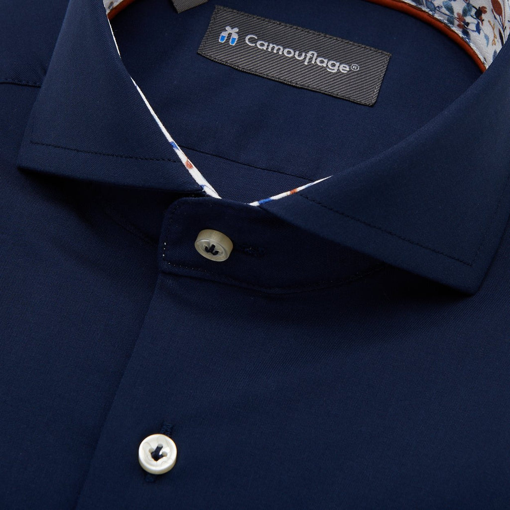 Fine twill overhemd Otranto - The Art of Camouflage