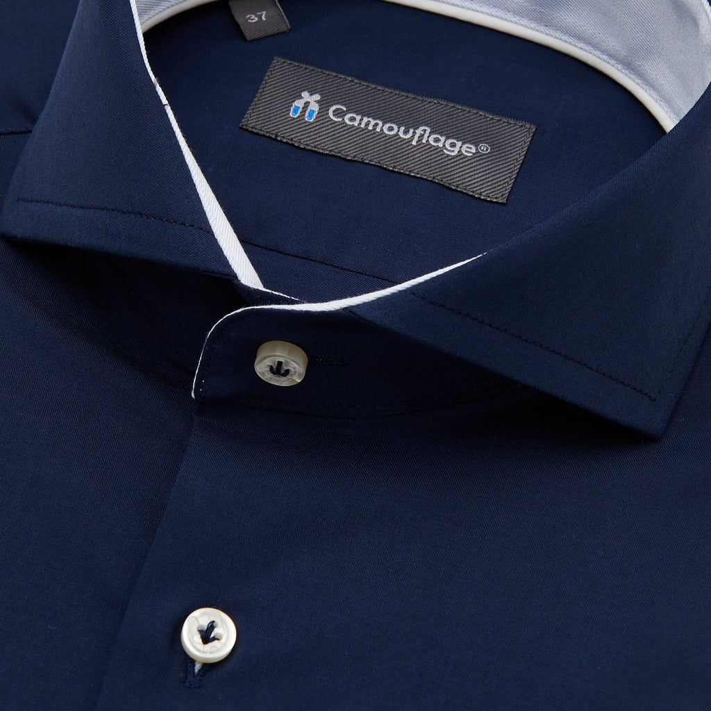 Fine twill overhemd Puglia - The Art of Camouflage