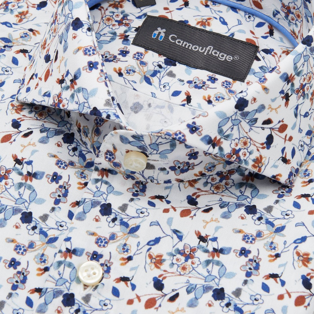 Poplin overhemd Sticchi - The Art of Camouflage