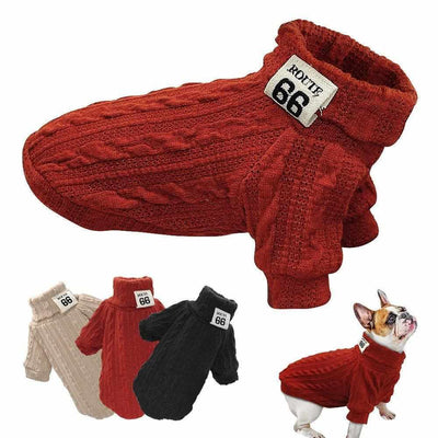 Classic Dog Sweater-Zaapy Pet